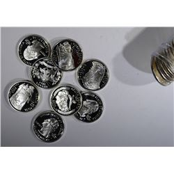 PROOF ROLL MIXED 90% SILVER 2006 STATE QUARTERS