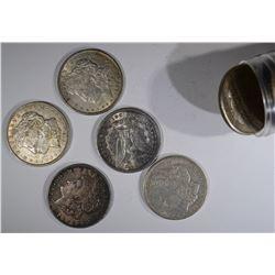 ROLL of 1921 MORGAN DOLLARS (20)