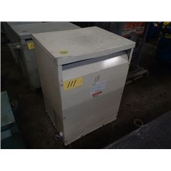 Powertran 75KVA Transformer, CAT#: 3PT657-75K-D1T