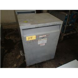 Powertran 75KVA Transformer, CAT#: 3PT43-75K