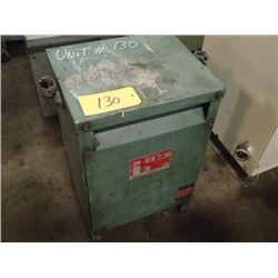 Hevi-Duty Electric, 25KVA Transformer, CAT: S5H 25, SER. C