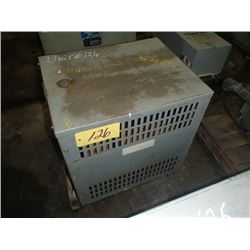 Rex Manufacturing 63KVA, 3 Phase Transformer, CAT: B63JP/SP