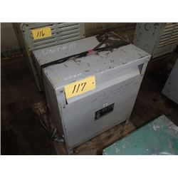 Hevi-Duty Electric, 30KVA, 3 Phase Transformer, CAT: T2H 30, SER. D