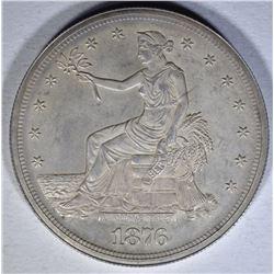 1876 TRADE DOLLAR  GEM PROOF