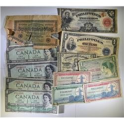 MIXED CURRENCY LOT: