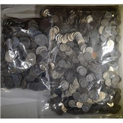 OVER 15 POUNDS FOREIGN COINS GOOD MIX
