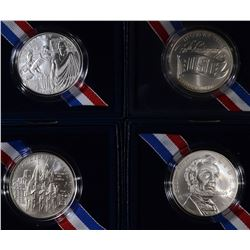 COMMEM SILVER DOLLARS: USO BU, 2002