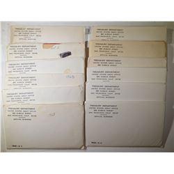 12 - 1968 MINT SETS - NICE ORIGINALS