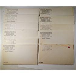 11 - 1965 SMS SETS - NICE ORIGINALS