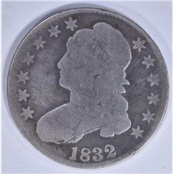 1832 CAPPED BUST HALF DOLLAR GOOD