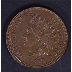 1865 INDIAN CENT CHOICE BU