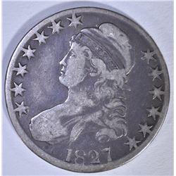 1827 BUST HALF DOLLAR, O-119 FINE