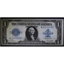 1923 $1 SILVER CERTIFICATE  CH.XF/AU