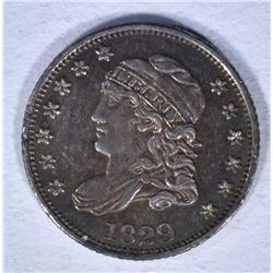 1829 CAPPED BUST HALF DIME AU