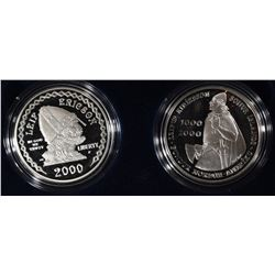 2000-P -LEIF ERICSON COMMEMORATIVE 2 - COIN