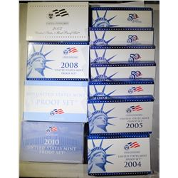 11 - PROOF SETS OF THE 2000's