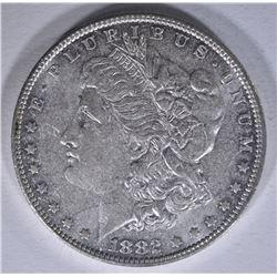1882-O MORGAN DOLLAR, CH BU