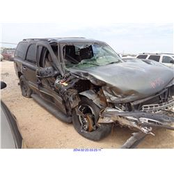 2003 - CHEVROLET TAHOE // SALVAGE TITLE