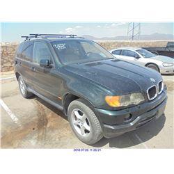2001 - BMW X5