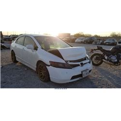 2007 - HONDA CIVIC EX // REBUILT SALVAGE