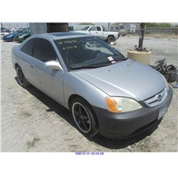 2001 - HONDA CIVIC