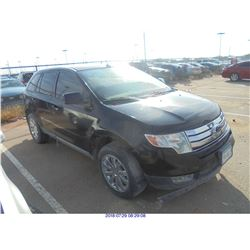 2010 - FORD EDGE // EXPORT // SALVAGE TITLE
