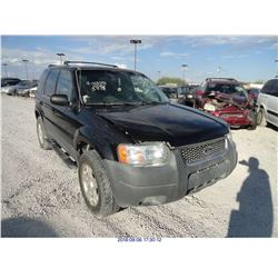 2004 - FORD ESCAPE // SALVAGE TITLE