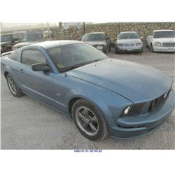 2005 - FORD MUSTANG // EXPORT // SALVAGE TITLE