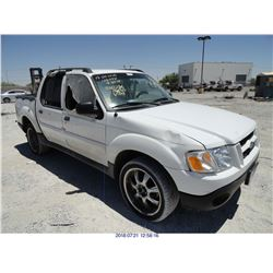 2004 - FORD EXPLORER SPORT TRAC