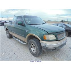 1999 - FORD F-150 // SALVAGE TITLE