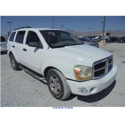 2004 - DODGE DURANGO // REBUILT SALVAGE