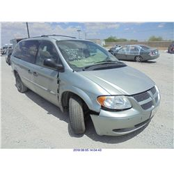 2004 - DODGE GRAND CARAVAN // REBUILT SALVAGE