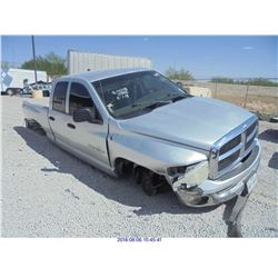 2004 - DODGE RAM 1500 // REBUILT SALVAGE