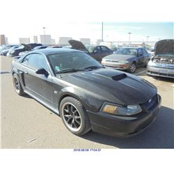 2003 - FORD MUSTANG