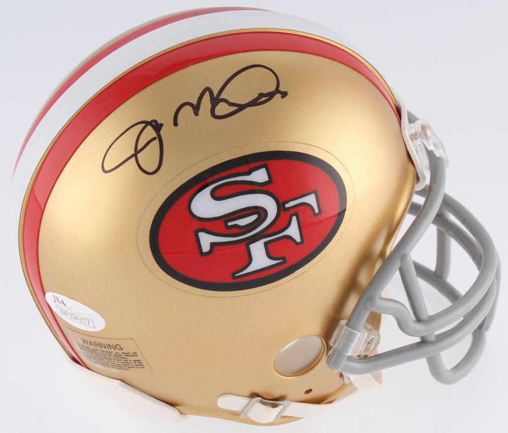 d971c6da80a Image 1   Joe Montana Signed 49ers Mini-Helmet (JSA COA)