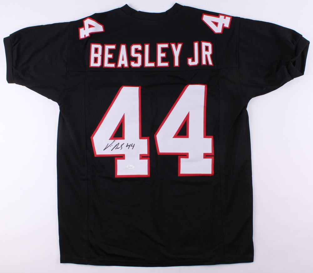 new styles 97333 4db94 Vic Beasley Signed Falcons Jersey (JSA COA)