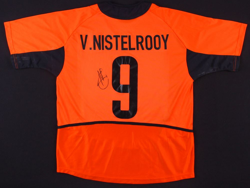 great fit 0506d e9e06 Ruud van Nistelrooy Signed Manchester United Jersey (JSA ...
