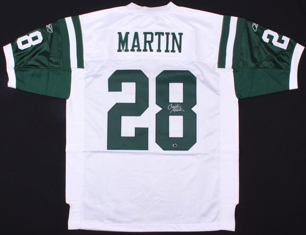 the best attitude 4030f b1c68 Curtis Martin Signed Jets Jersey (Schwartz COA)