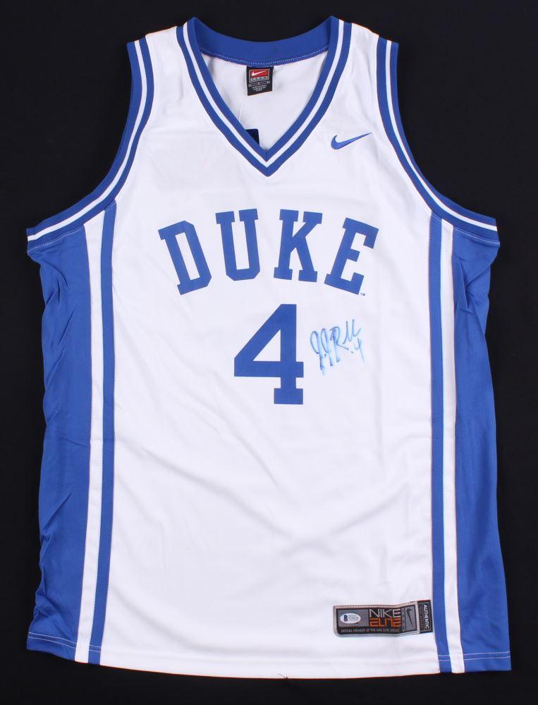 a0e1d6a903c Image 1 : JJ Redick Signed Duke Blue Devils Jersey (Beckett COA)