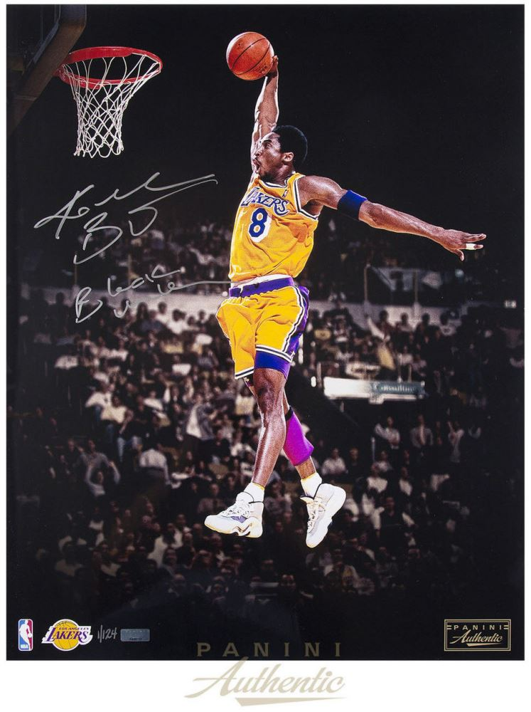 Image 1   Kobe Bryant Signed Lakers 16x20 LE Photo Inscribed