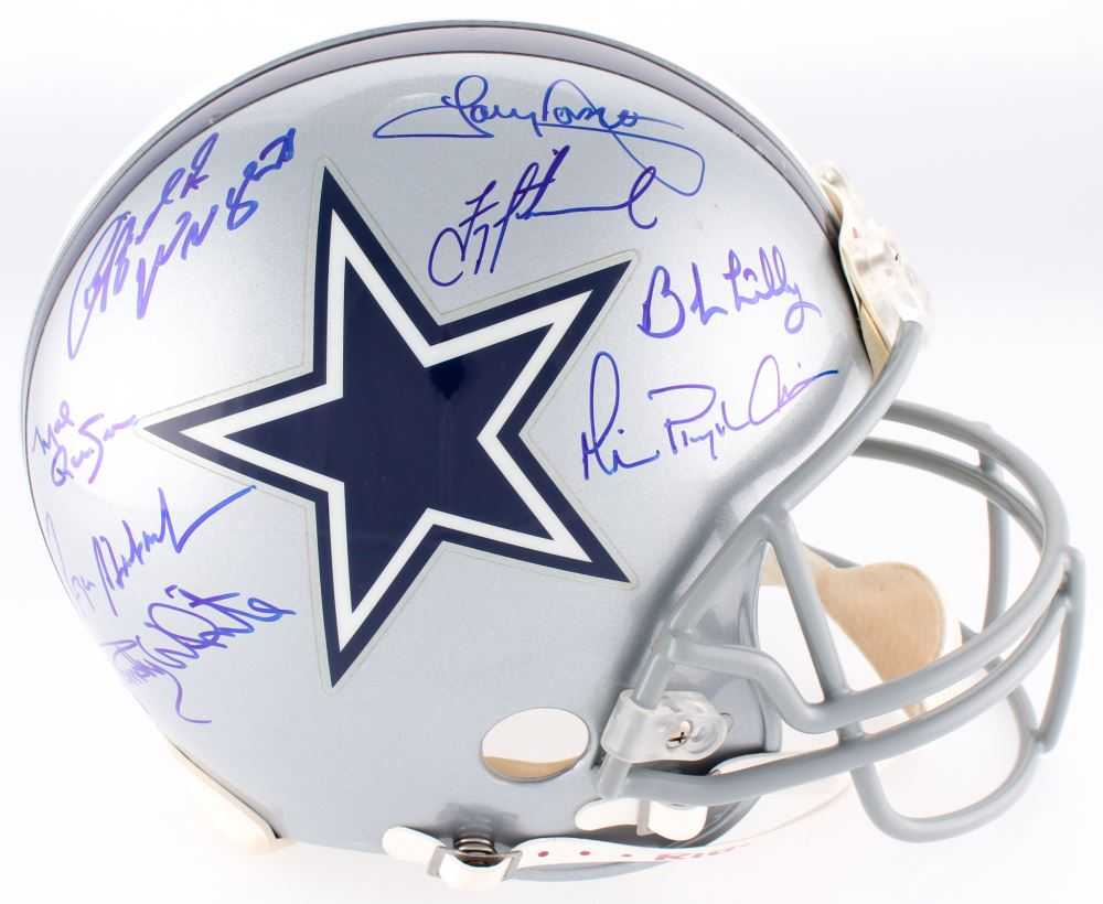 a3160a263c4 Image 1 : Dallas Cowboys Full-Size Authentic On-Field Helmet Signed By (