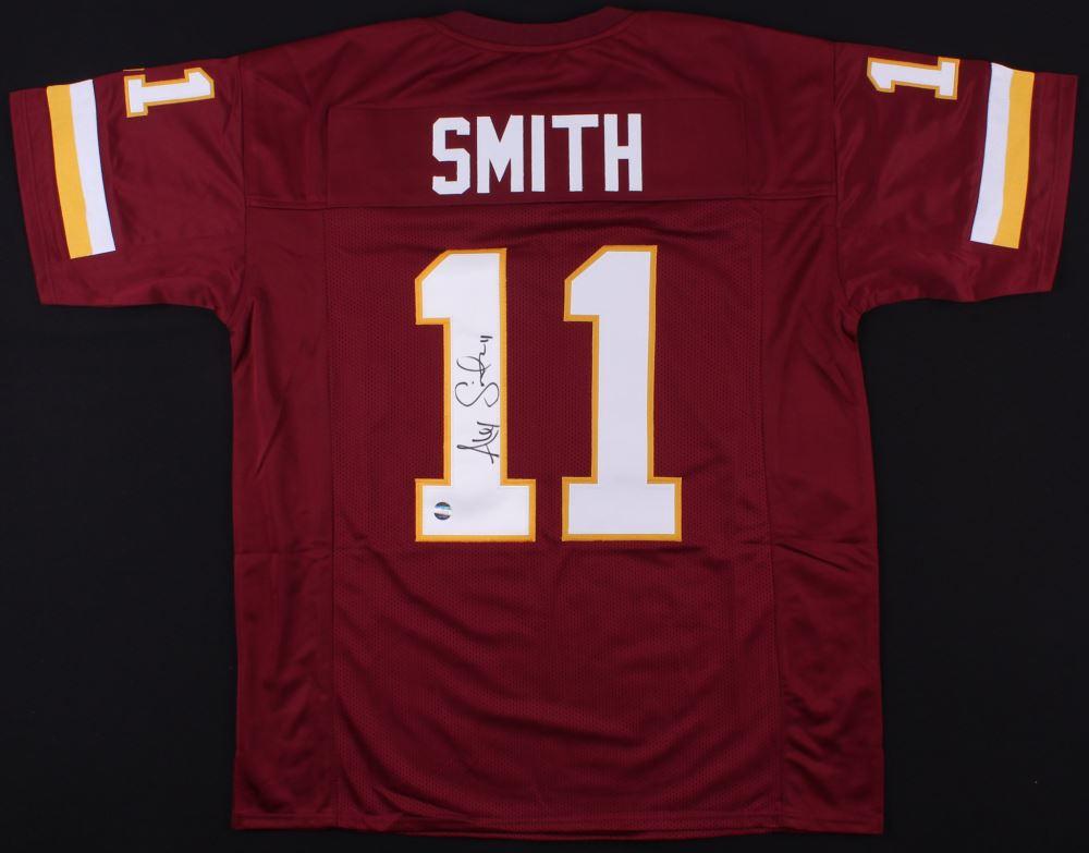 timeless design ca7c6 6d30b Alex Smith Signed Redskins Jersey (Smith Hologram)