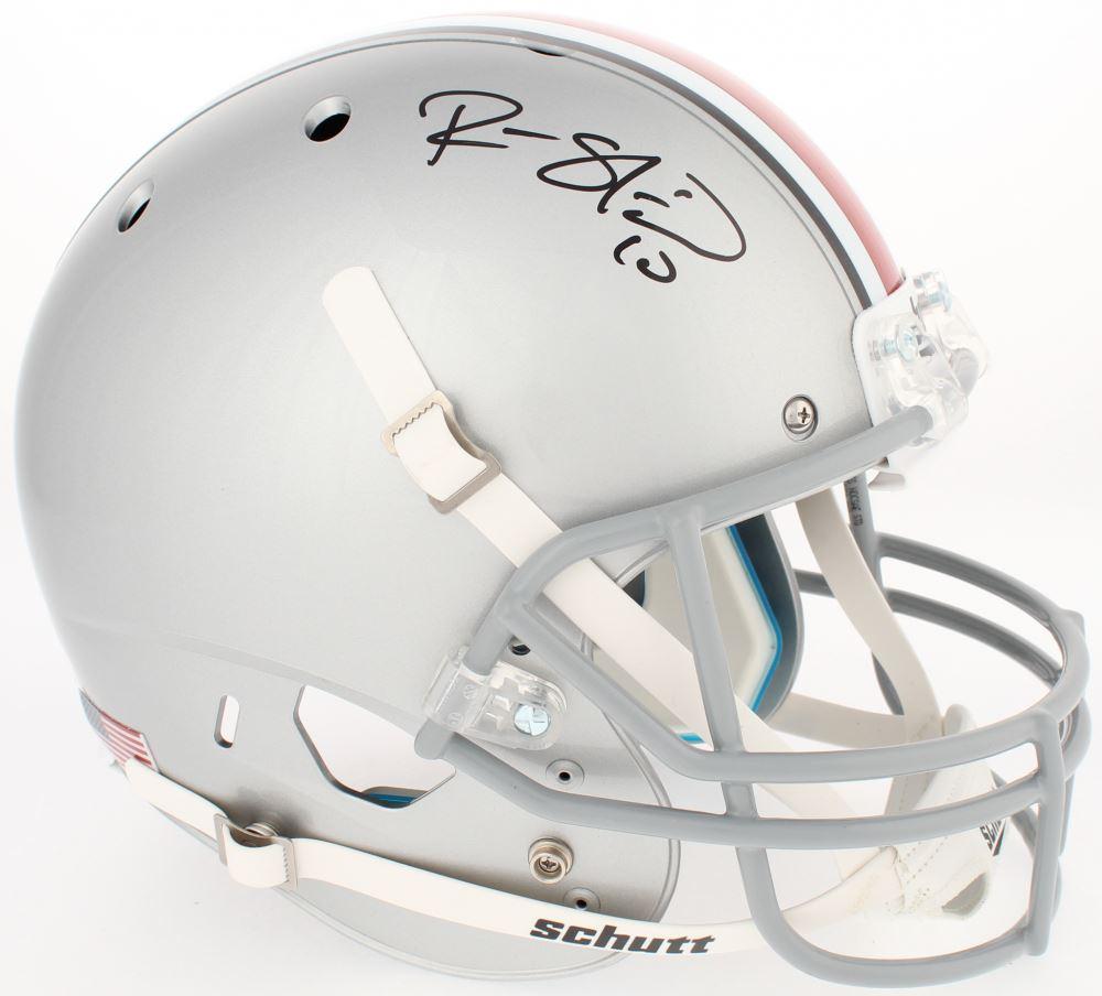 bf74975ed Image 1   Ryan Shazier Signed Ohio State Buckeyes Full-Size Helmet (Radtke  COA