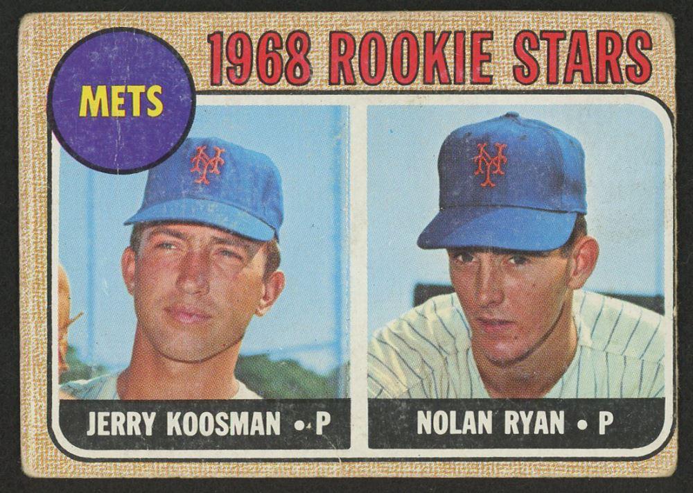 1968 Topps 177 Rookie Stars Jerry Koosman Rc Nolan