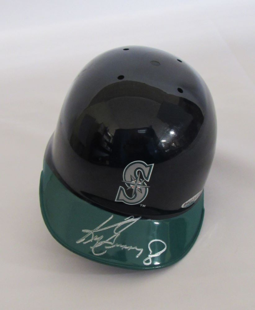 8dffc5f7e Image 1   Ken Griffey Jr. Signed Mariners Mini Helmet (UDA Hologram)