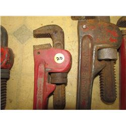 5 Pipe Wrenches