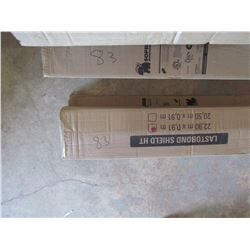 SOPREMA 3 boxes, Last O Bond self adhesive membrane, roofing underlayment