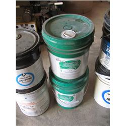 6 - 5 Gal Partial pails, 2 Acrylic Concrete Sealer, 2 water based curing/sealing/compound, 1 Form Oi