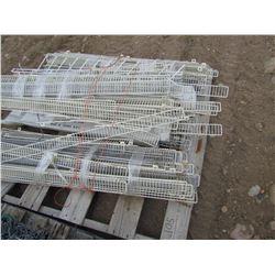 Pallet of ends for display racks