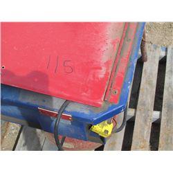 Zep Allare parts washer w/stand